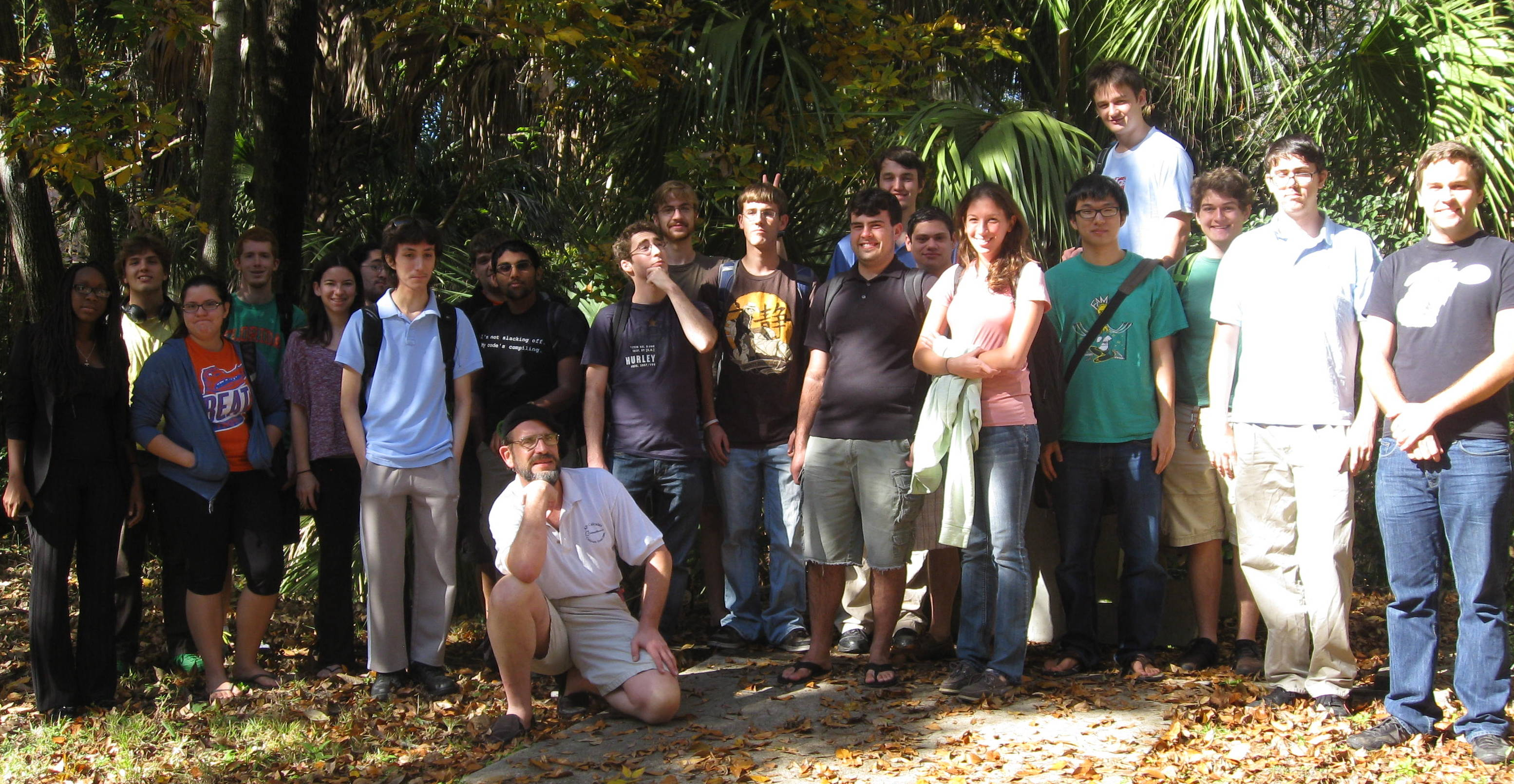 Illuminated 2012Autumn Combinatorics class